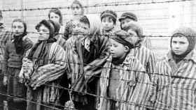 Niños en campos de concentración.