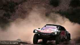 Carlos Sainz, durante una etapa del Dakar.