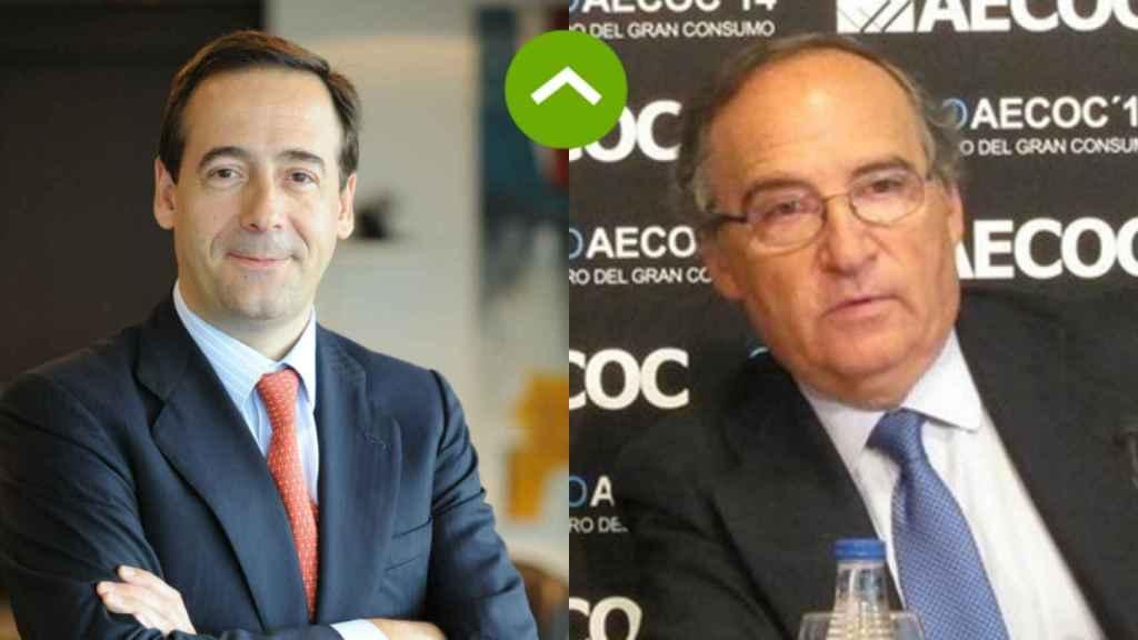 Gonzalo Gortázar (Caixabank) y Antonio Hernández (Ebro Foods)