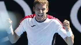 Carreño, tras su victoria ante Muller en la tercera ronda del Abierto de Australia.