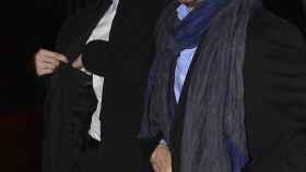 Alejandro Amenábar y David Blanco en una imagen antigua.