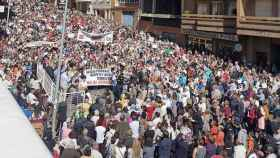 zamora benavente manifestacion hospital sanidad5