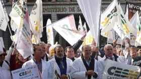 02 medicos manifestacion
