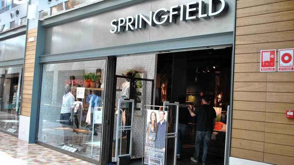 Imagen de una tienda Springfield, de Tendam.