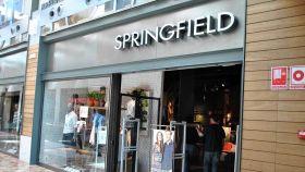 Imagen de archivo de una tienda Springfield.