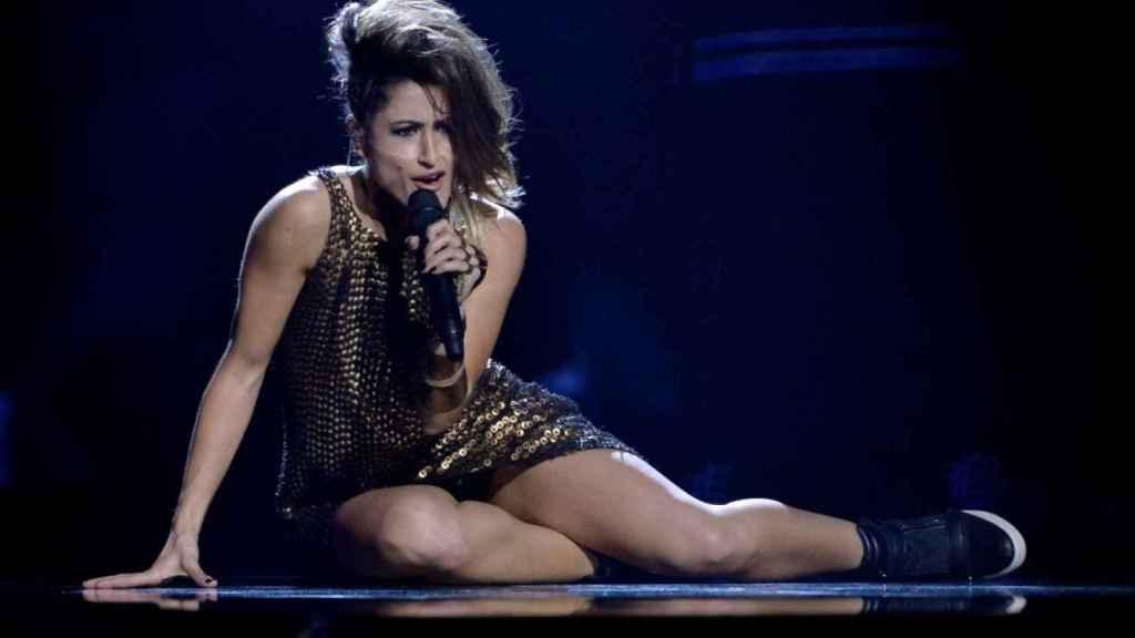 Imagen de la cantante Barei que participó en Eurivisión y que estará en los THOS Awards 2018.