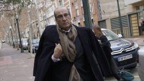 Francis Franco llegando a los juzgados de Teruel.