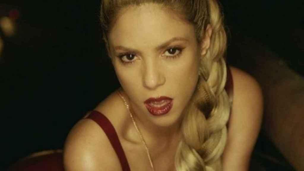 Shakira en el videoclip de su canción 'Perro Fiel'. Foto: Instagram (@shakira)