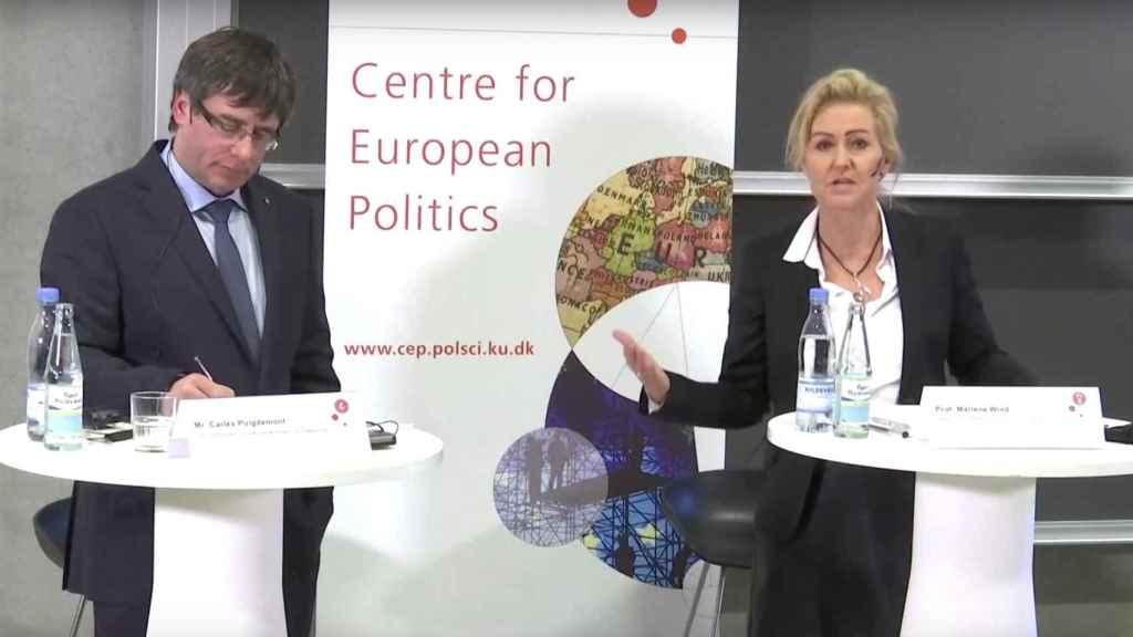 Habla la profesora danesa que chafó a Puigdemont: 'La Universidad no está para darle un micro y que haga campaña'