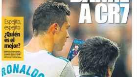 Portada de Mundo Deportivo del martes 23 de enero de 2018.
