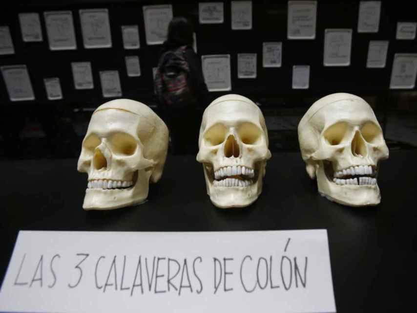 Las tres calaveras de Colón, un Artefacto de Parra.