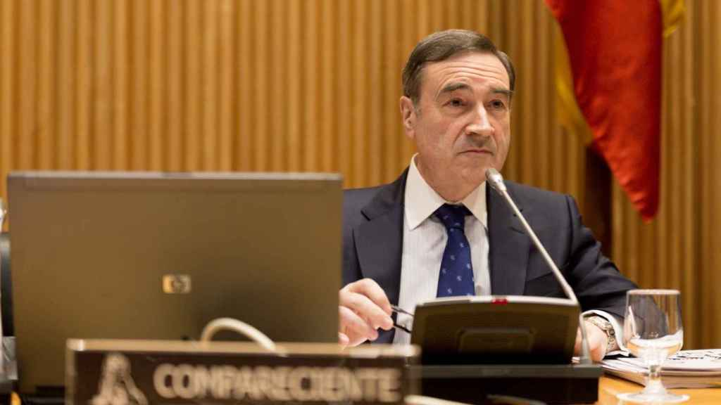 Pedro J. Ramírez, en la comisión de investigación del Congreso sobre la financiación ilegal del PP.