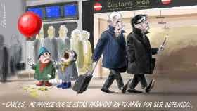 El afán de Puigdemont.