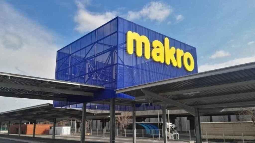 El exterior de una tienda de Makro, en una imagen de archivo.