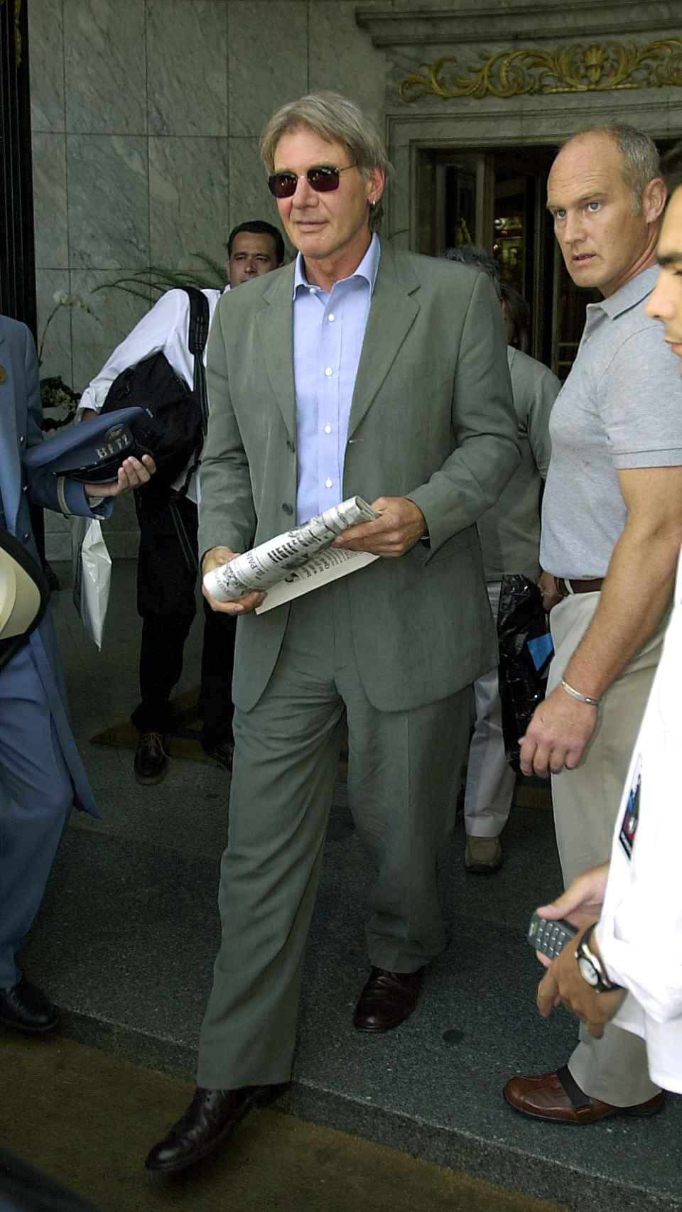 Richard Gere en la salida del Ritz. Gtres.