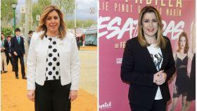 Susana Díaz en un montaje.