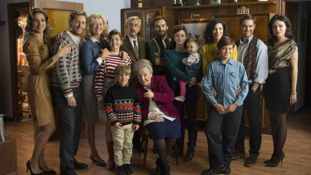 Los protagonistas de Cuéntame, una de las series que estarán en la plataforma.