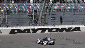 El United Autosports, el coche con el que correrá Alonso en Daytona.