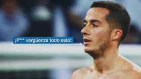 Lucas Vázquez. Foto Twitter (@DeportesCuatro)
