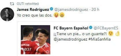El último guiño de Guti a James Rodríguez