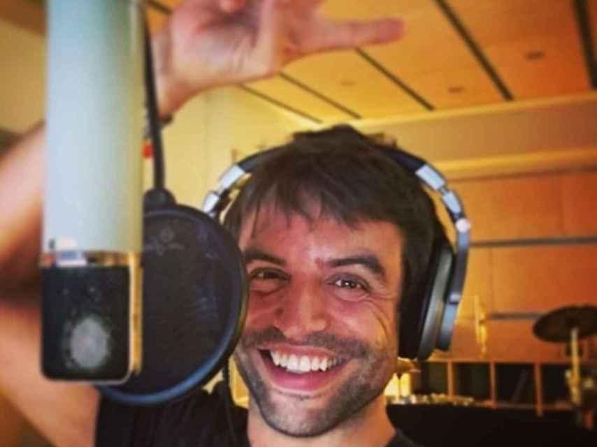 Manu Guix, en el estudio.