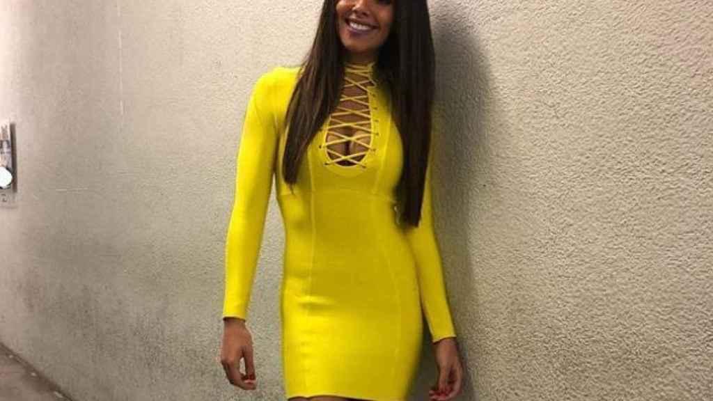 Cristina Pedroche con el vestido.