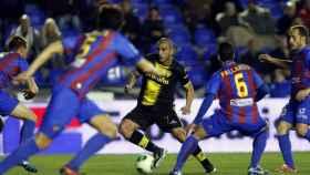 Imagen del Levante - Real Zaragoza de mayo de 2011.