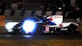 Fernando Alonso durante los entrenamientos en Daytona.