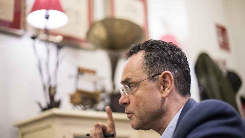 El coronel Pedro Baños, en una entrevista reciente con EL ESPAÑOL.
