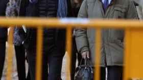 Mario Conde a su llegada a la Audiencia Nacional.