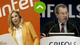 Dolores Dancausa (Bankinter) y Víctor Grifols (Grifols).
