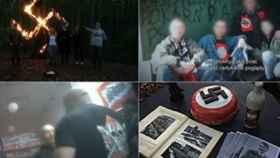 Imágenes del reportaje de la cadena de televisión polaca.