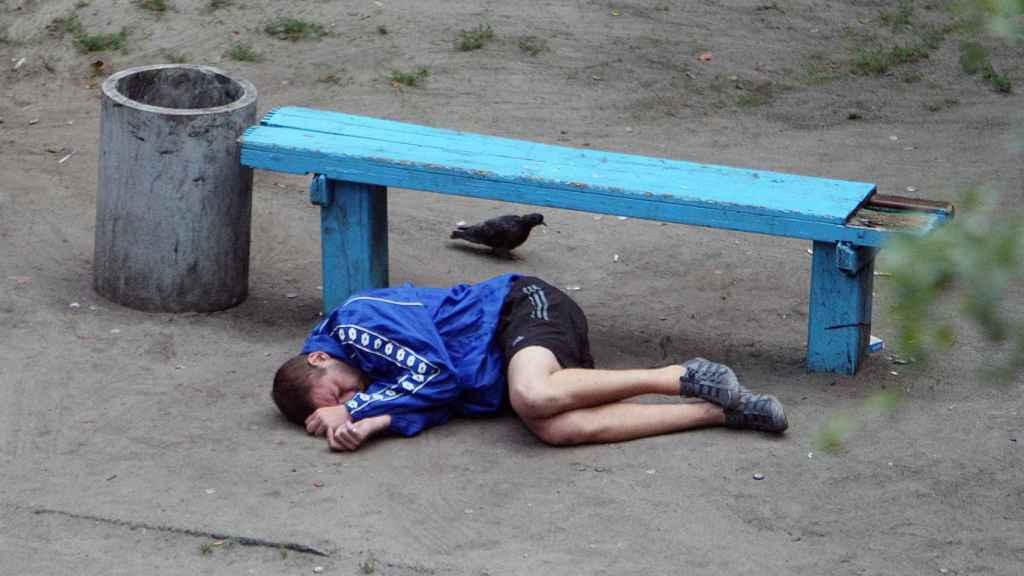Muchas de las fotografías retratan a personas en situación de vulnerabilidad