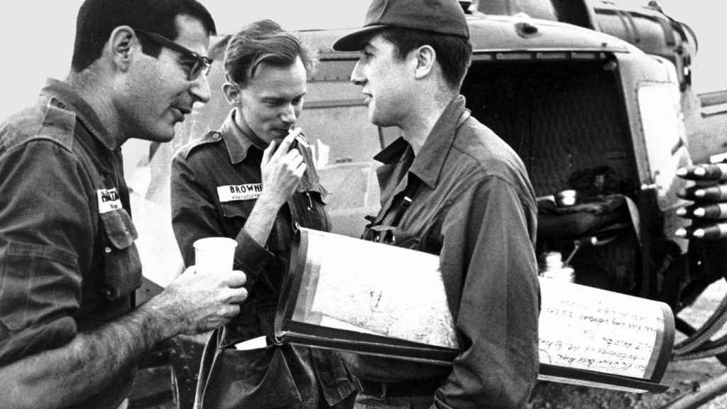 David Halberstam de The New York Times, Malcolm Browne de Associated Press y Neil Sheehan en Vietnam.
