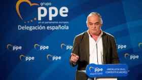 Esteban González Pons durante las jornadas 'Andalucía en el contexto europeo'.