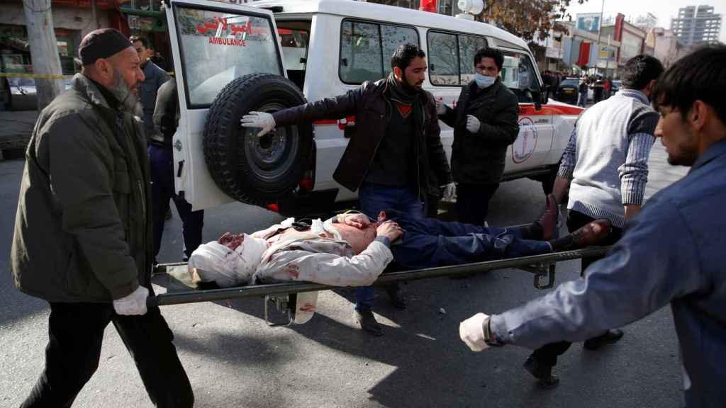 Uno de los heridos por el atentado