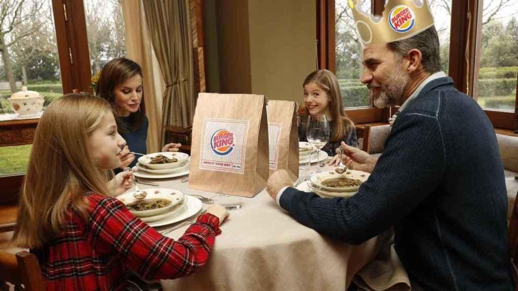 Burger King, aquí tú eres el King, escribe la tuitera que ha hecho este meme