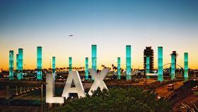El Aeropuerto de Los Ángeles es el segundo más grande de EEUU.