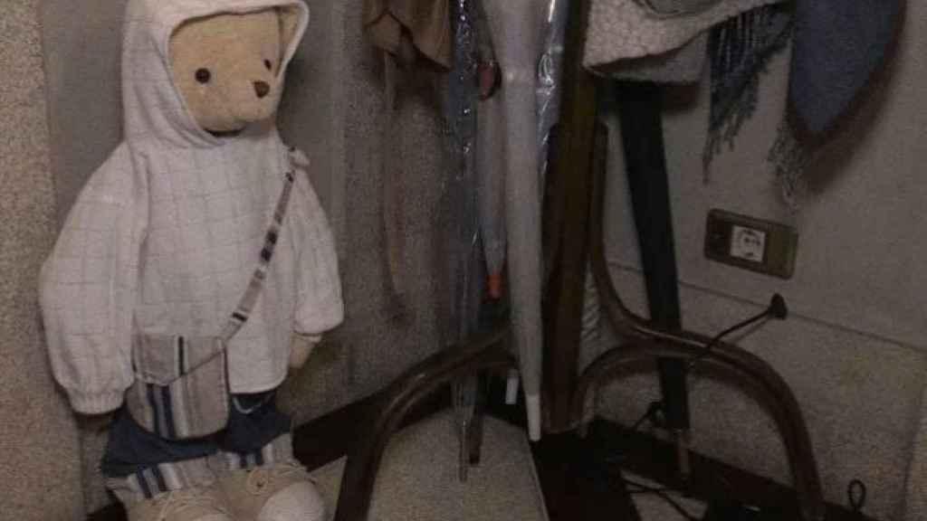 Imagen del oso tipo 'paddington'.