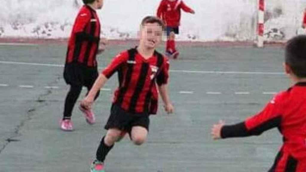 Víctor, el niño atropellado por un autobús, jugaba al fútbol en el Juventud Uva.