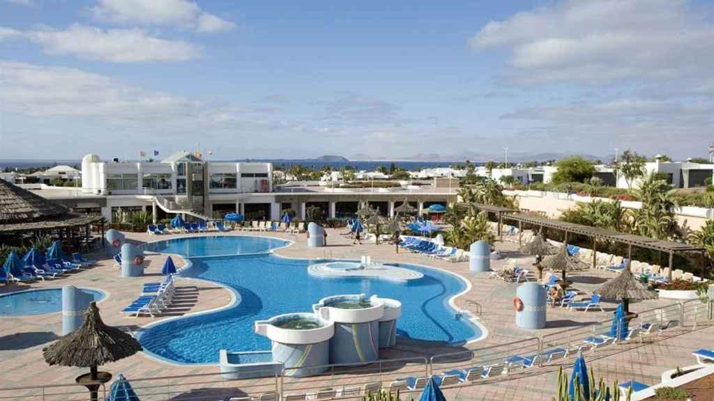 Imagen del hotel Club Playa Blanca en Lanzarote.