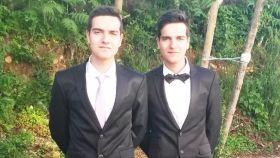Los gemelos políticos de Orense Nabor (PSOE) y Adrián (PP)