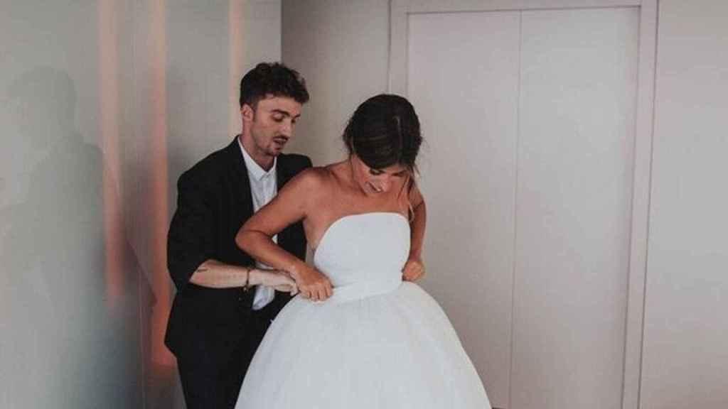 Vistió a Dulceida el día de su boda.