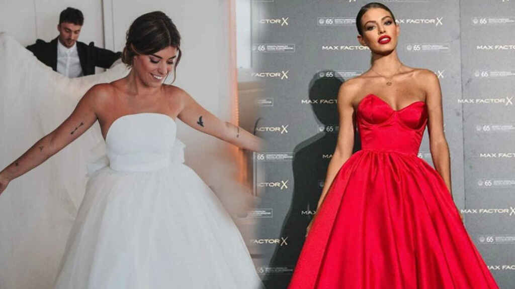 Dulceida y Jessica Goicoechea lucen diseños de Ze García.