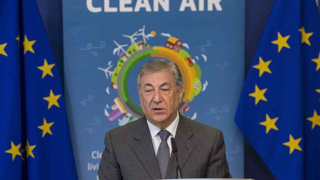 El comisario de Medio Ambiente, Karmenu Vella