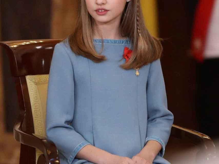 Felipe VI en su 50 cumpleaños impuso el Toisón a la Princesa Leonor