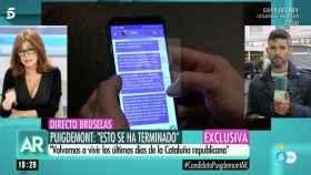 Comín prepara una demanda contra Telecinco por la exclusiva de Ana Rosa