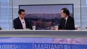 La insulsa entrevista de Sergio Martín a Mariano Rajoy en TVE: ni caja B ni encuestas