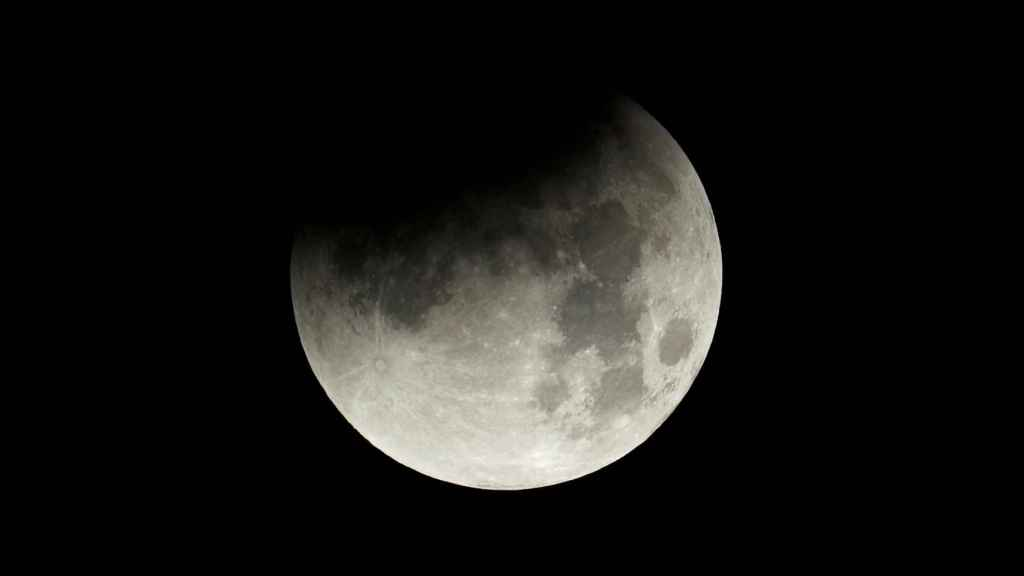 La súper Luna azul de sangre  de enero de 2018.