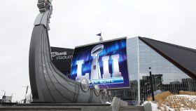 El estadio de los Vikings, escenario de la Super Bowl 2018.